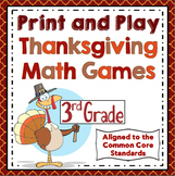 3rd Grade Thanksgiving Math - 3rd Grade Math Games and Centers