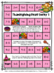 Thanksgiving Math Games First Grade: Fun Thanksgiving Acti