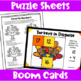 Thanksgiving Math Activities - Games, Puzzles and Brain Teasers