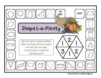 Thanksgiving Math Games for 1st Grade