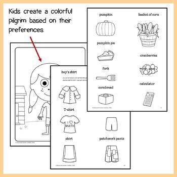 Thanksgiving Math Goofy Glyph (2nd Grade Common Core)