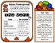 Thanksgiving Math Grades 3-5 Editable {Forever Freebie}