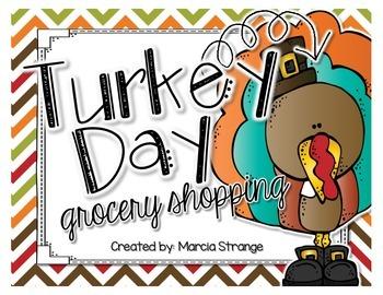 Thanksgiving Math: Shopping for Thanksgiving Dinner
