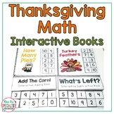 Thanksgiving Math Interactive Books (Adapted Math Books for Special Education)