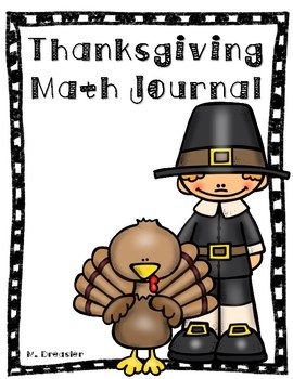 Thanksgiving Math Journal