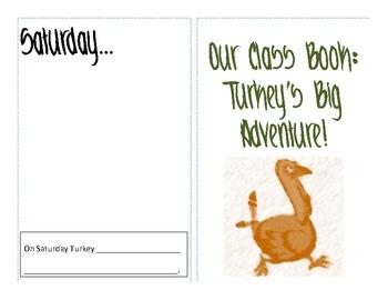 Thanksgiving Math & Literacy Activities