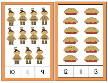 Turkey Tales: Thanksgiving Math Stations for PreK & Kinder (CC Aligned)