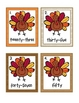 Thanksgiving Math & Literacy Centers Kindergarten First Second