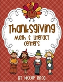 Thanksgiving Math & Literacy Centers Pack