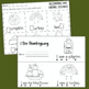 Thanksgiving Math and Reading Printables for Kindergarten