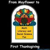 Thanksgiving Math, Literacy and Social Science - Thanksgiving Fun