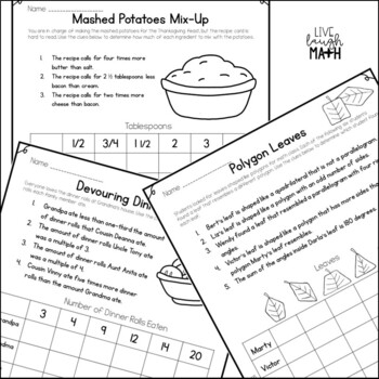 Thanksgiving Math Logic Puzzles {Thanksgiving Activities for Grades 4 and up}