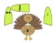 Thanksgiving Math Match, a game of number recognition in 3