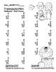 """Thanksgiving Math"" Mixed Multiplication Common Core  Fun!"