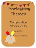 Thanksgiving Math : Multiplication
