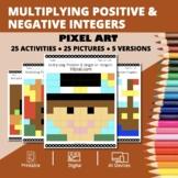 Thanksgiving: Multiplying Positive & Negative Integers Pix