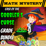 Thanksgiving Math Mystery: Case of the Gobbler's Curse Multi-Grade Bundle