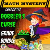 Thanksgiving Math Mystery: Case of the Gobbler's Curse Multi-Grade Bundle