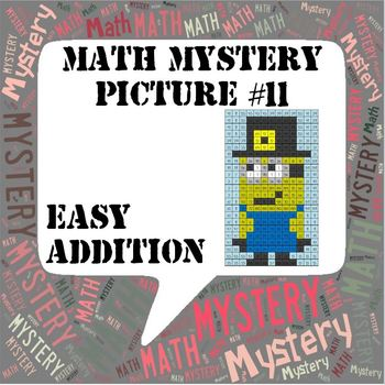 Thanksgiving Math Mystery Picture  ~ EASY Addition