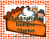 Thanksgiving Addition and Subtraction Number Stories