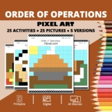 Thanksgiving: Order of Operations Pixel Art Mystery Pictures