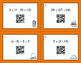 Thanksgiving Math: Order of Operations QR Code Task Cards