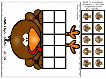 Thanksgiving Math Pack