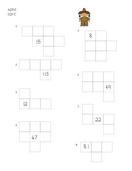 Thanksgiving Math Pack- Number Sense