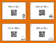 Thanksgiving Math: Percents QR Code Task Cards