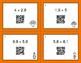 Thanksgiving Math: Percents to Decimals QR Code Task Cards