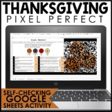Thanksgiving Math Pixel Art | Distance Learning