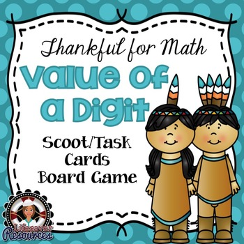 Thanksgiving Math Game Place Value