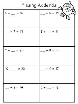 Thanksgiving Math Practice