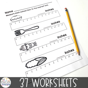 Thanksgiving Math Printables for Special Education