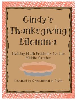 Thanksgiving Math Problem