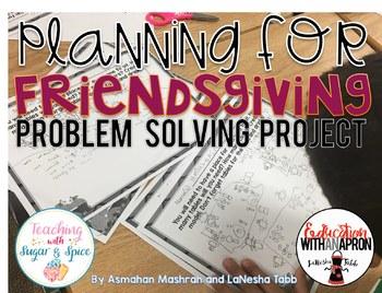 Thanksgiving Math Problem Solving / Writing unit.