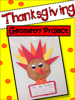 Thanksgiving Math Project: Geometric Shapes