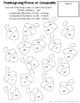 Thanksgiving Math Review Coloring Pages TEKS 6.2B, TEKS 6.3D, TEKS 6.7A