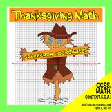 Thanksgiving Math - Scarecrow Coordinates