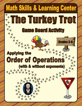 Thanksgiving Math Skills & Learning Center (Order of Operations)