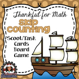 Thanksgiving Math Game Skip Count within 1,000