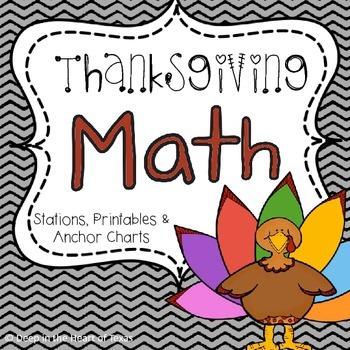 Thanksgiving Math Station