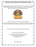 Thanksgiving Math Survey