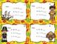 Thanksgiving Math Task Cards (2nd grade)