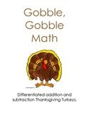 Thanksgiving: Math Turkey
