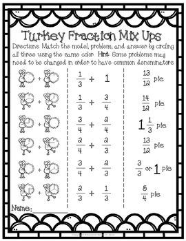 Thanksgiving Math Unit Grades 3-5