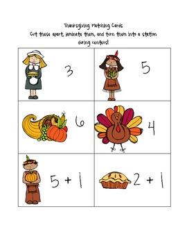 Thanksgiving Math Unit K-1