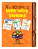 Thanksgiving Math Work Stations