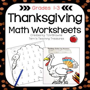 Thanksgiving Math Worksheets By Tchrbrowne Teachers Pay