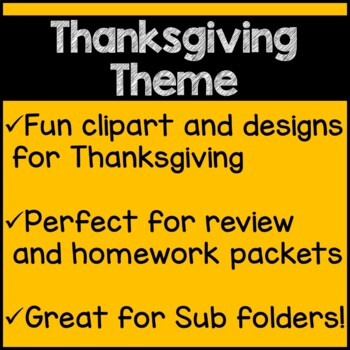 Thanksgiving Math Worksheets 4th Grade Common Core